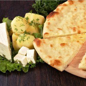 «Картофджин» пирог с картофелем, сыром